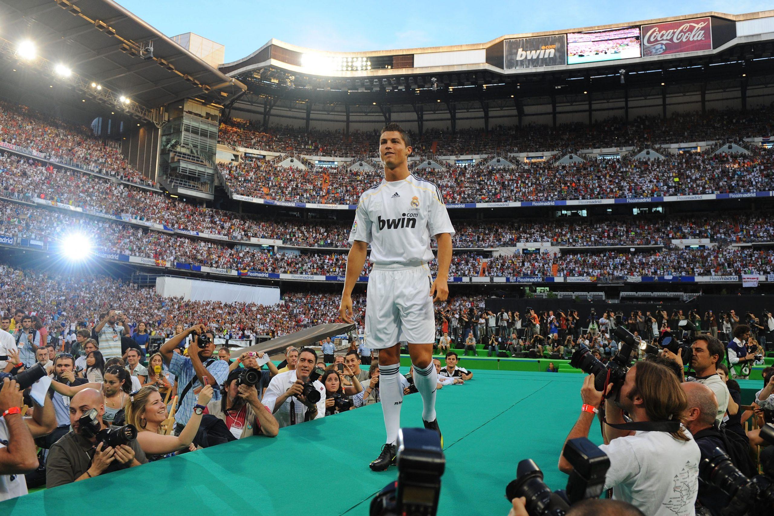 Η παρουσίαση του Cristiano Ronaldo.